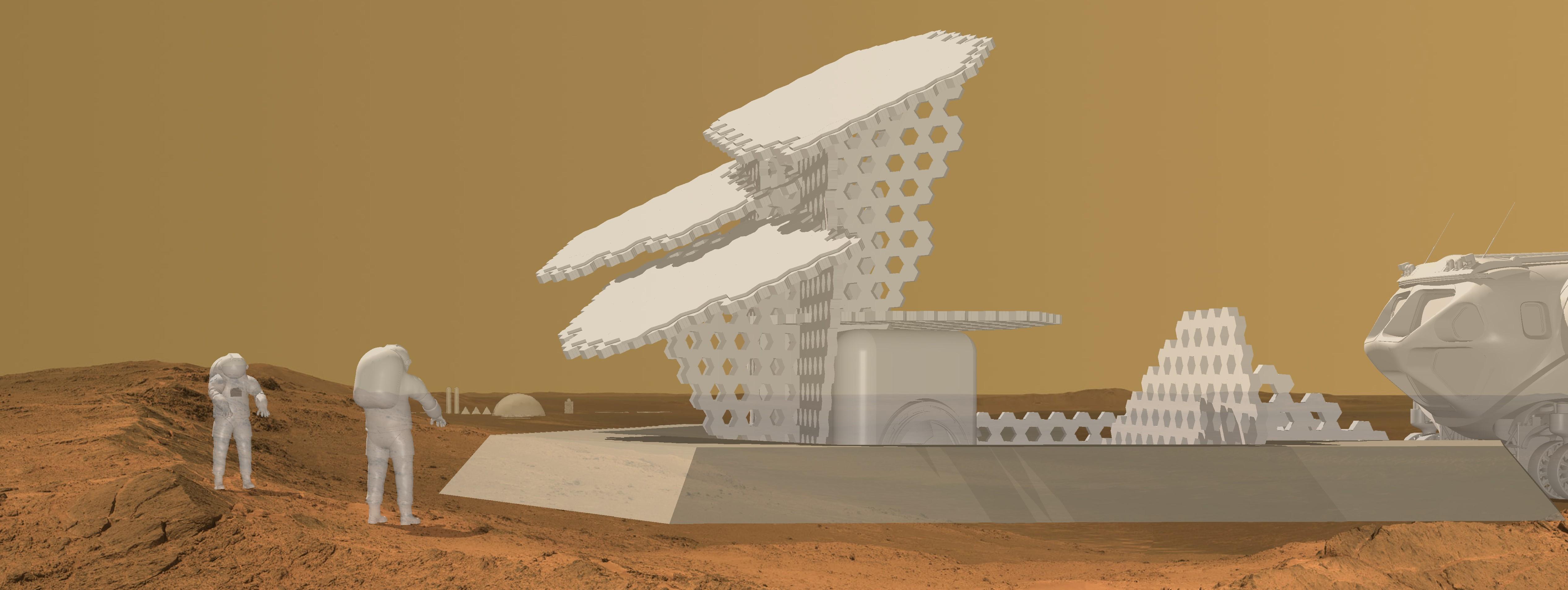 Masonry Charging Station Mars