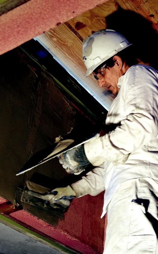 CRAFTED TRADITION: RESTORING THE PLASTER AT UNITY TEMPLE