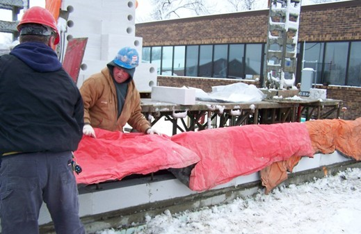 Cold Weather Masonry Construction